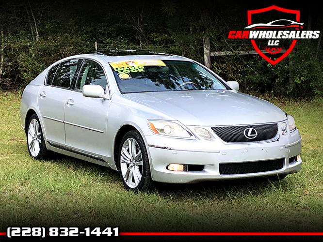 2007 Silver Lexus GS 450h Sedan (JTHBC96S975) with an 3.5L V6 DOHC 24V HYBRID engine, CVT transmission, located at 18001 Kellogg Rd, Saucier, MS, 39574, (228) 832-1441, 39.421459, -76.641457 - Photo #0